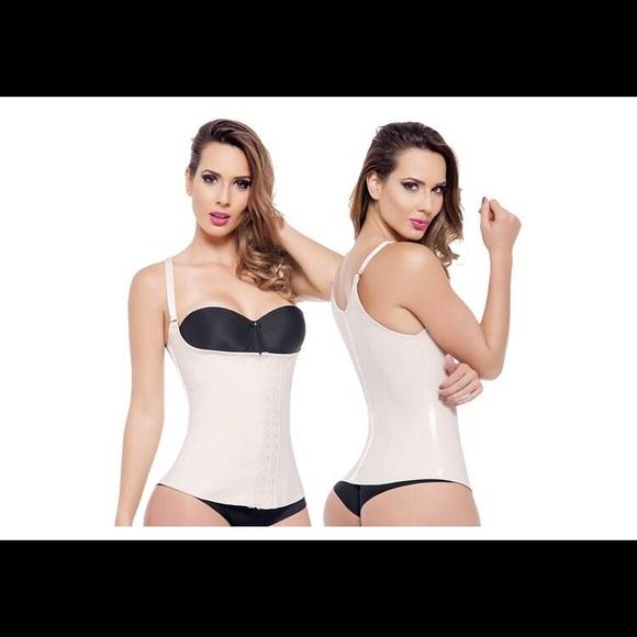 5824fcc639 Angel Curves Other - Angel Curves waist training vest nude